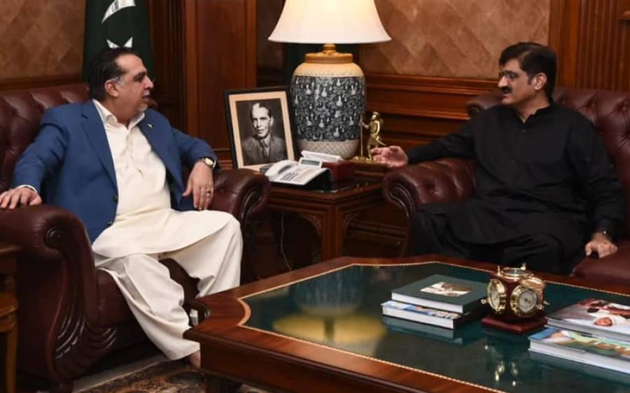گورنر سندھ کا وزیراعلیٰ مراد علی شاہ کو خط ، بڑے خطرے کی نشاندہی کرتے ہوئے وفاق کے مکمل تعاون کی یقین دہانی
