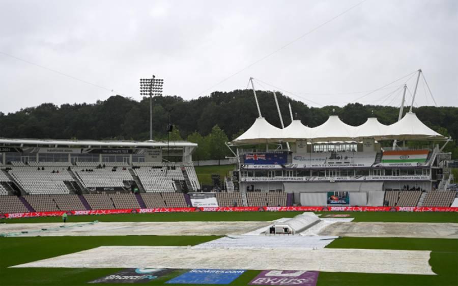 آئی سی سی ٹیسٹ چیمپئن شپ کا فائنل مقابلہ ،بارش کے باعث چوتھے روز کا کھیل شروع نہ ہو سکا