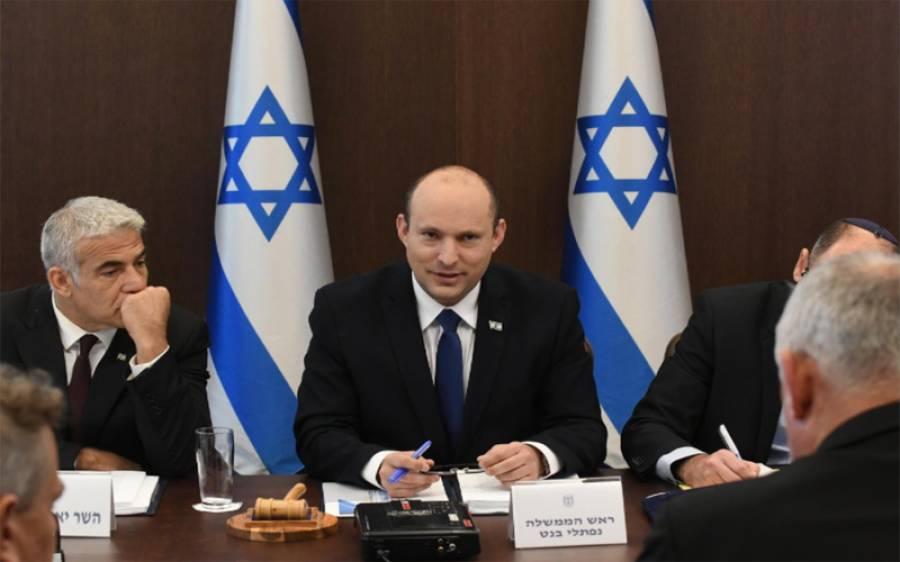 اب غزہ سے مزید راکٹ حملے برداشت نہیں کروں گا : اسرائیلی وزیر اعظم
