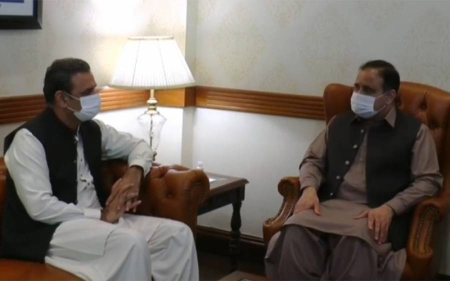 وزیراعلیٰ پنجاب سے عاصم سلیم باجوہ کی ملاقات، کیا گفتگو ہوئی ؟ جانئے
