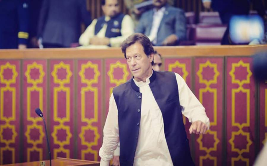 وزیراعظم عمرا ن خان کا آئی ایس آئی ہیڈکوارٹر کا دورہ، سیکیورٹی صورتحال پر بریفنگ