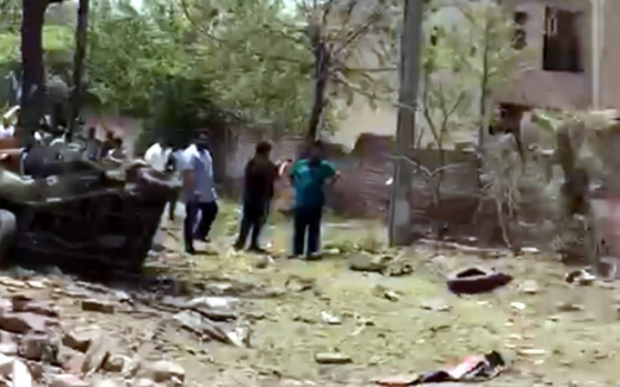 لاہور دھماکے کے دو شہداءکی شناخت ہو گئی