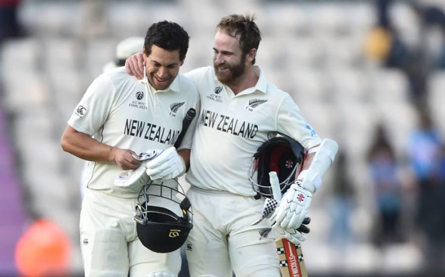 نیوزی لینڈ ٹیسٹ کا پہلا چیمپیئن بن گیا، بھارت کو اتنی بری شکست کہ سارے ارمان خاک میں ملادیے