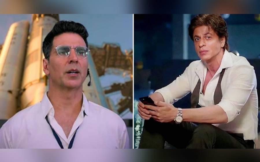 شاہ رخ خان نے اکشے کمار کیساتھ کام نہ کرنے کی وجہ بتادی