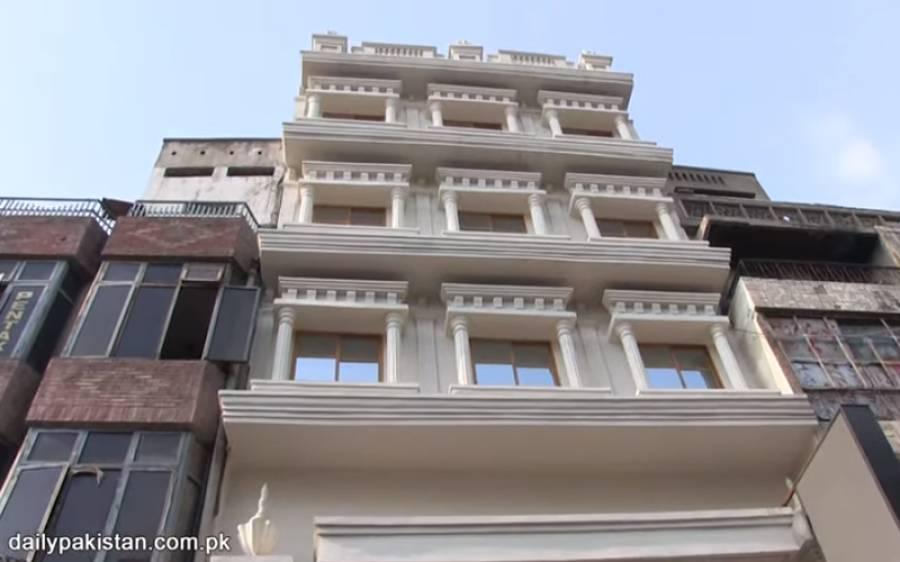 لاہور میں قائم 1 مرلے کی 5 منزلہ عمارت، دیکھ کر آپ بھی بنانے والے کی مہارت کو داد دیں گے