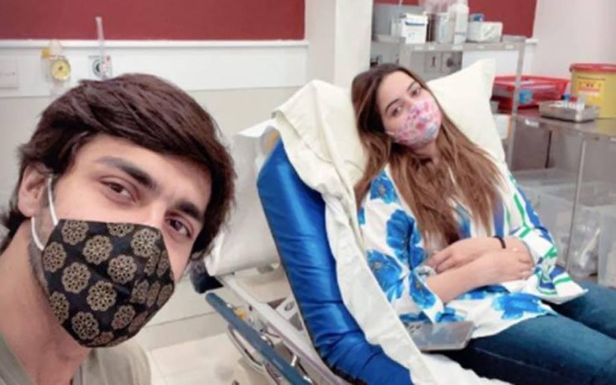 اداکارہ منال خان زخمی، ہسپتال داخل