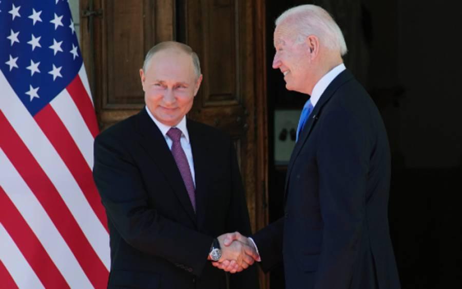 جو بائیڈن اور روسی صدر کے درمیان ٹیلیفونک رابطہ، سائبر سیکیورٹی پر تبادلہ خیال
