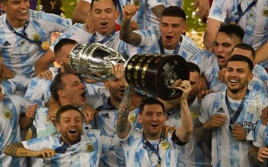ارجنٹائن نے تاریخ رقم کردی، برازیل کو شکست دے کر کوپا امریکاکپ کا چیمپیئن بن گیا