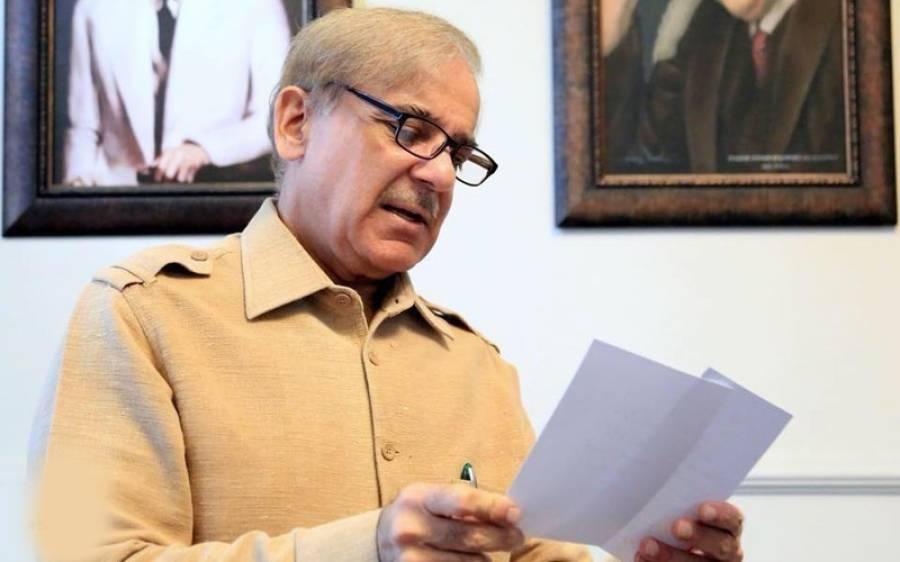 سیاسی رہنماؤں سے سیکیورٹی واپس لینے کا معاملہ ، شہباز شریف نے تحریک انصاف حکومت کو آڑے ہاتھوں لے لیا