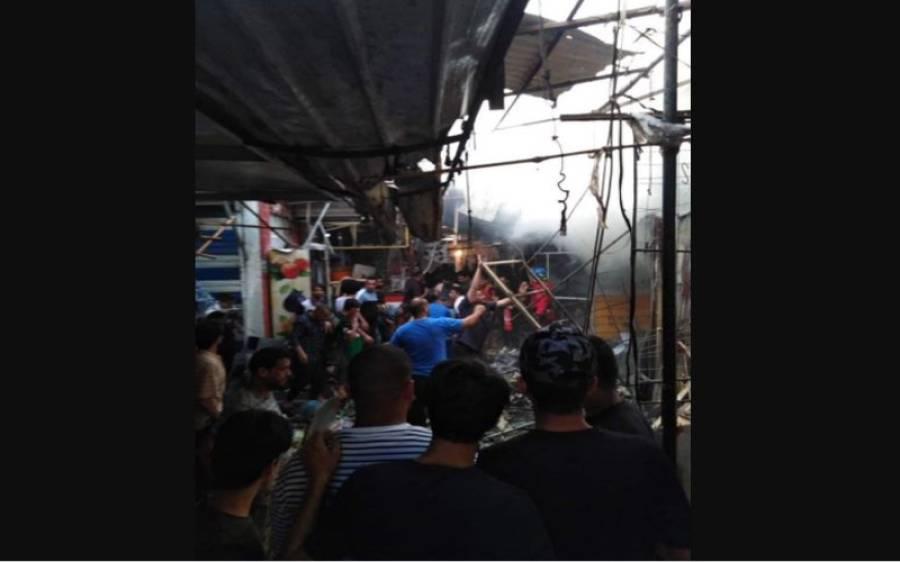 بغداد میں دھماکہ، 10 افراد جان سے گئے