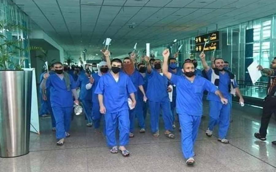 سعودی عرب سے 62 قیدی تو پاکستان پہنچ گئے، باقی کب تک آئینگے؟ وزات خارجہ نے بتادیا