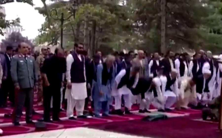 کابل میں نماز عید کے دوران صدارتی محل پر راکٹ حملے، طالبان کا موقف بھی آگیا