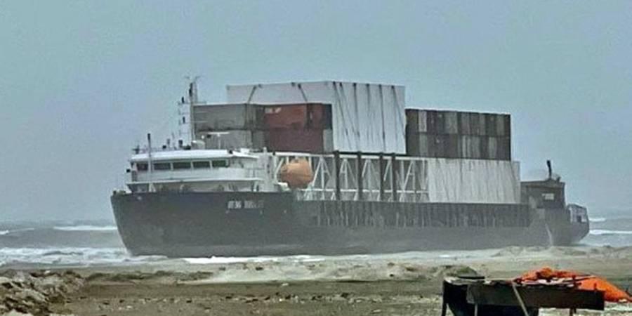 کراچی کے ساحل پر بحری جہاز کے پھنسے کا معاملہ ، اخراجات اور نقصان کون بھرے گا ؟ پاکستان نے واضح اعلان کر دیا