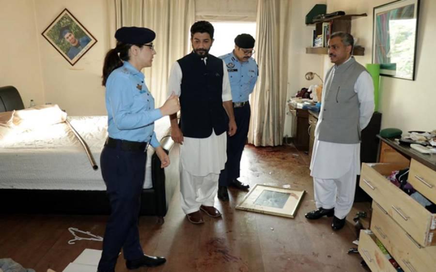 نور مقدم کا قتل کہاں ہوا ، پولیس نے مقتل گاہ کی تصویر جاری کر دی