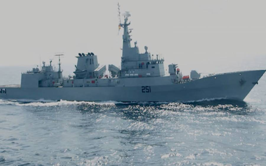 پاک بحریہ کا جہاز پی این ایس ذوالفقار روس پہنچ گیا