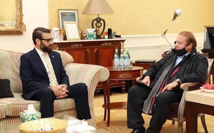 نوازشریف کی افغان مشیر سے ملاقات کس ملک نے کروائی؟ تہلکہ خیز دعویٰ سامنے آ گیا