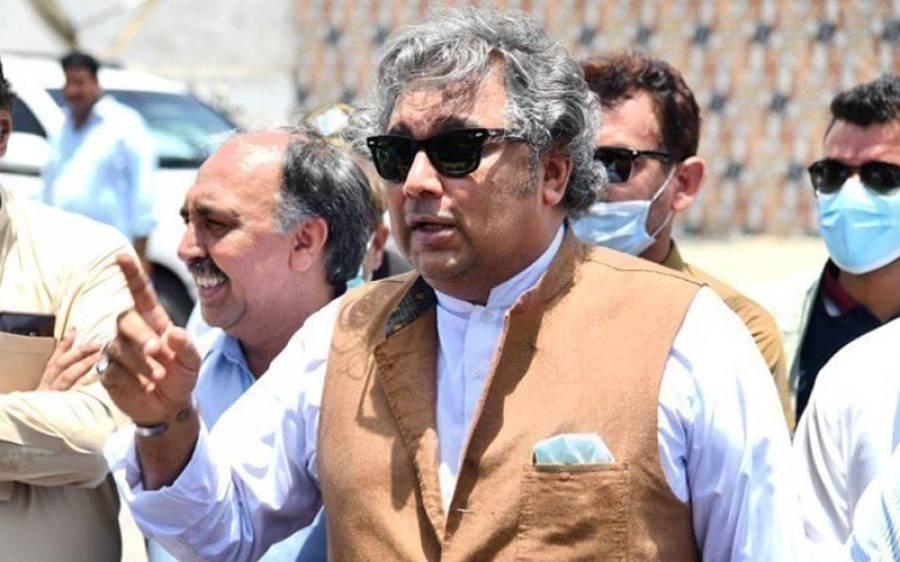 سی ویو کراچی پر پھنسے ہوئے بحری جہاز کا معاملہ ، وفاقی وزیر علی زیدی بھی میدان میں آ گئے