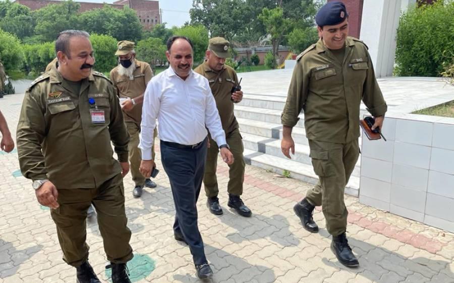 قانون ساز اسمبلی کے انتخابات، پنجاب پولیس کے بہترین سیکیورٹی انتظامات