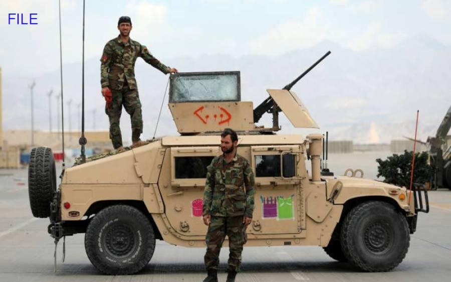 افغان نیشنل آرمی کے پانچ افسران سمیت 46 سپاہیوں کی پاک فوج سے پناہ کی درخواست