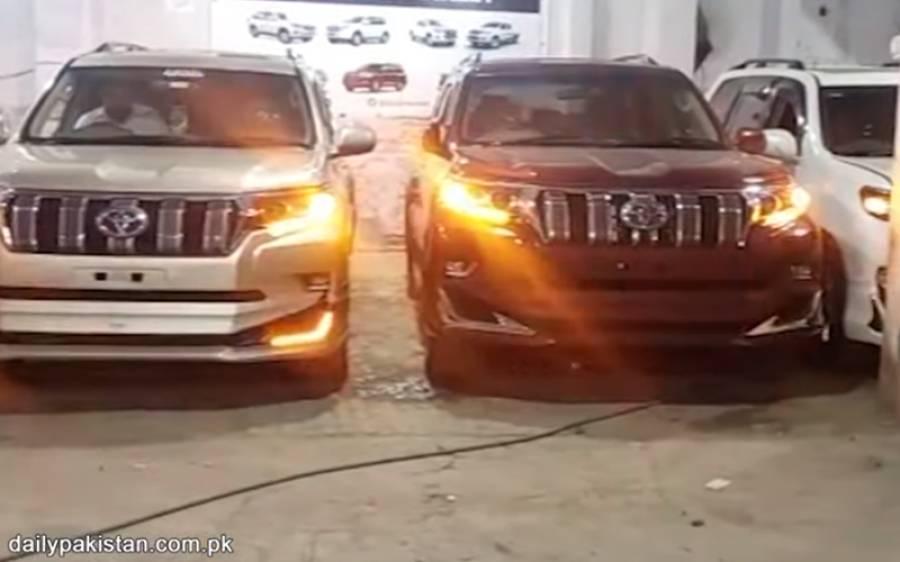 نہایت کم قیمت میں پرانی گاڑی کو نئی اور دلکش بنانے والے پاکستانی نوجوان