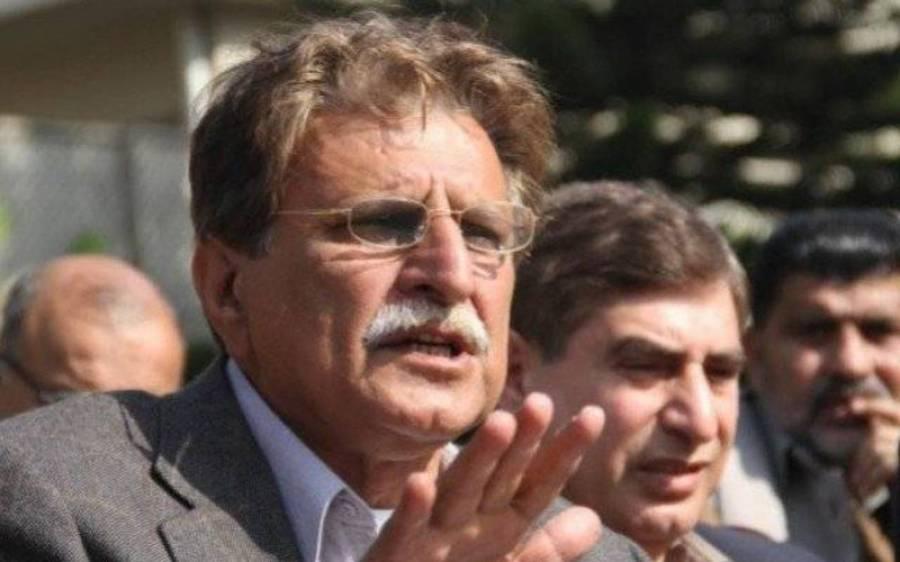 راجہ فاروق حیدر کا آزاد کشمیر کے حالیہ انتخابی نتائج کے خلاف تحریک چلانے کا اعلان