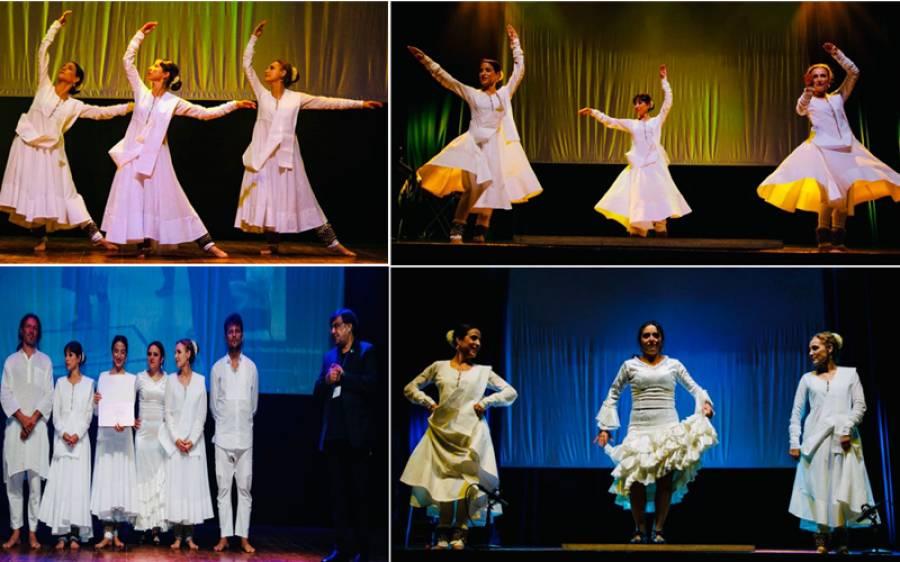 سپین و پاکستان کے سفارتی تعلقات کے 70 سال مکمل ،بارسلونا قونصلیٹ کی تقریب ،پاکستانی رقص کتھک اور ہسپانوی رقص کی پرفارمنس