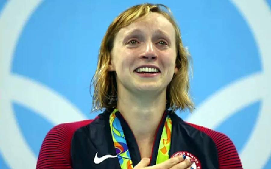 ٹوکیو اولمپکس 2020، فری سٹائل 1500 میٹر سوئمنگ میں امریکا کی کیٹی لیڈکی نے گولڈ میڈل جیت لیا