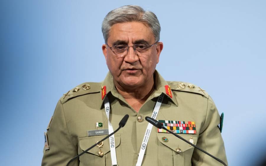 چین اور پاکستان کی فوج مشکل وقت کے بھائی ہیں : آرمی چیف