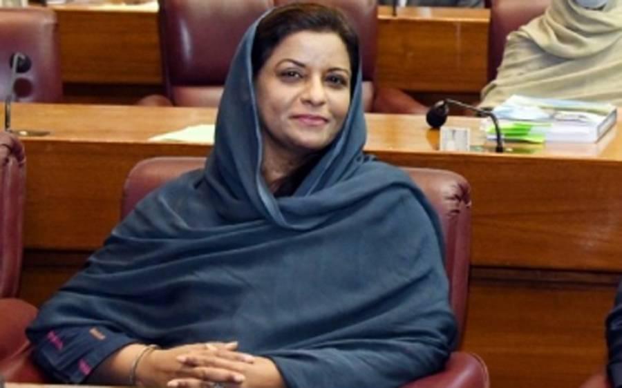 نیلوفر بختیار کی تقرری کو ڈاکٹر نفیسہ شاہ نے دن دیہاڑے ڈاکہ اور پارلیمنٹ کی توہین قرار دے دیا