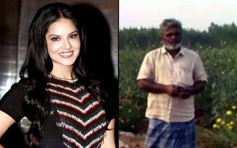 بھارتی کسان نے کھیت میں سنی لیون کی تصاویر لگا دیں لیکن کیوں؟ وجہ جان کر ہنسی روکنا مشکل