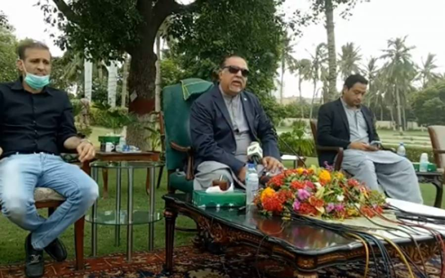 سندھ حکومت کا لاک ڈاؤن کا فیصلہ ، گورنر عمران اسماعیل بھی میدان میں آگئے
