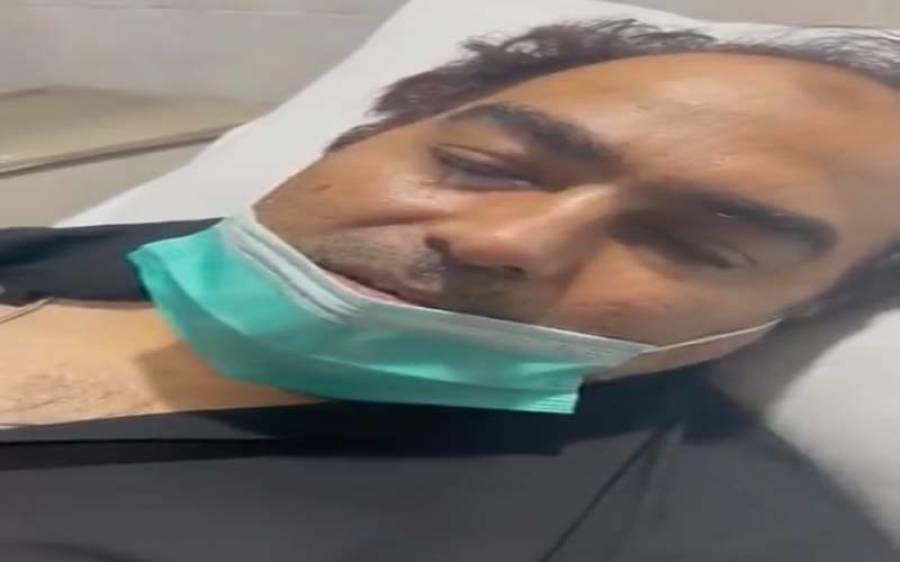 نذیر چوہان کو دل کی تکلیف، کارڈیالوجی ہسپتال منتقل کردیا گیا،شہزاد اکبر سے معافی بھی مانگ لی