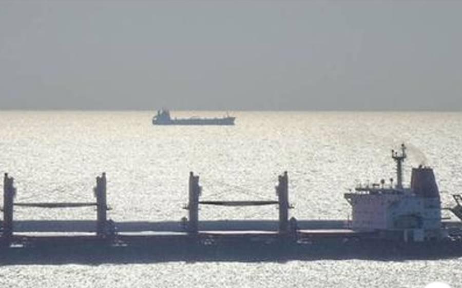 کراچی پورٹ ٹرسٹ کی حدود میں ایک اور بڑا حادثہ ، چینی سے بھرا کنٹینر سمندر میں جا گرا