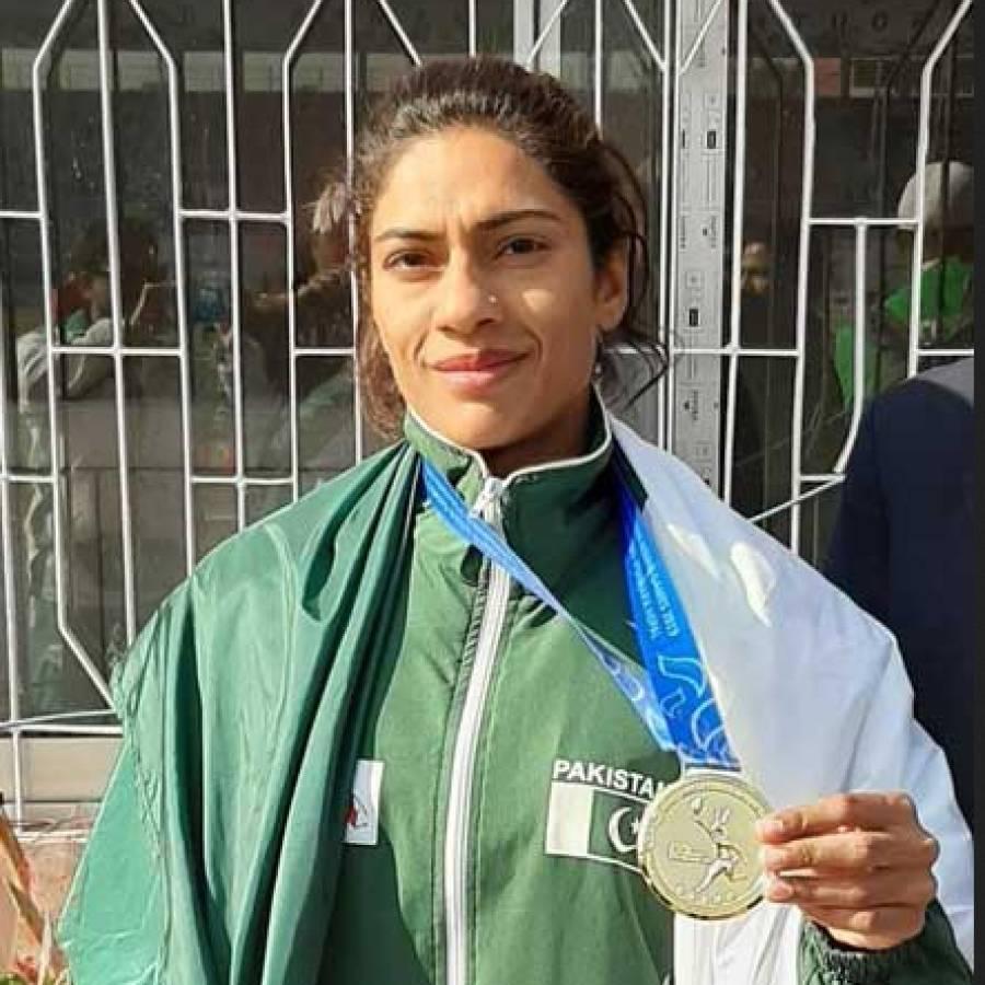 ٹوکیو اولمپکس،پاکستانی ایتھلیٹ نجمہ پروین گولڈ میڈل جیتنے کیلئے پرعزم