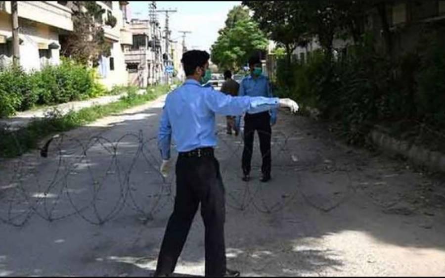 اسلام آباد کے 600 گھروں میں کورونا کے 2 ہزار کیسز، قرنطینہ کرکے سمارٹ لاک ڈاؤن نافذ