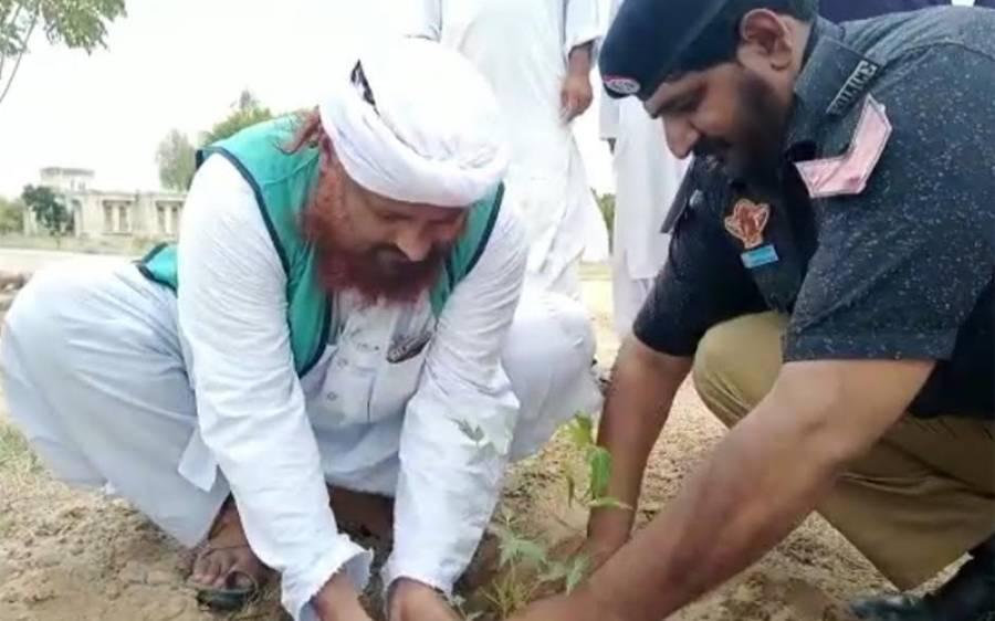 دعوت اسلامی کی طرف سے عمرکوٹ قلعہ کےگیٹ پر پودا لگاکر ضلع میں شجرکاری مہم کا افتتاح کردیا گیا