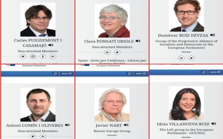 بھارت کے کشمیر پر غاصبانہ قبضہ کے خلاف خط لکھنے والےیورپین پارلیمنٹرین میں چھ ہسپانوی ممبران شامل