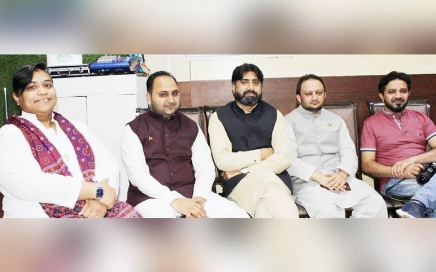 آزاد کشمیر الیکشن میں شاندار کامیابی پر تحریک انصاف یو اے ای کی سینئر قیادت کی جانب سے تقریب کا انعقاد