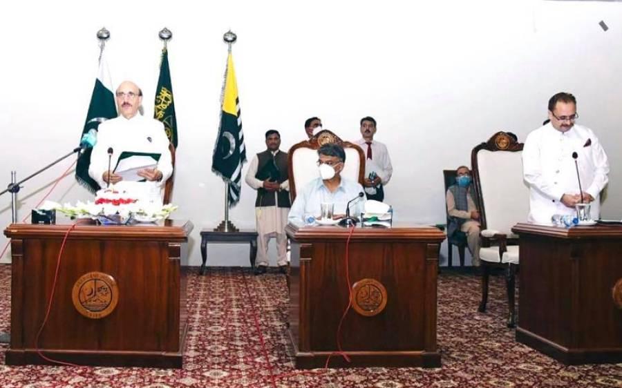 آزاد کشمیر کابینہ ، وزیراعظم کے بعد سردار تنویر الیاس کو سب سے اہم ذمہ داری سونپ دی گئی