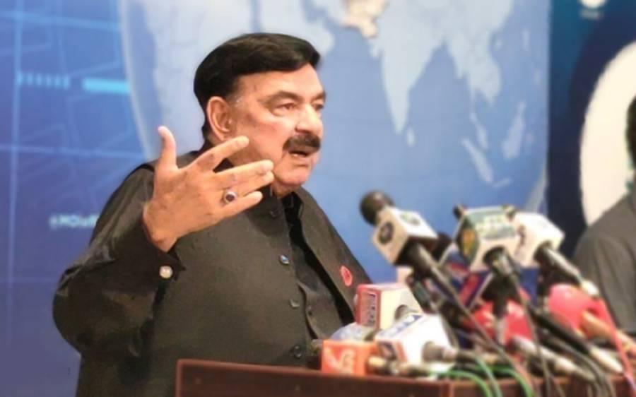 نوازشریف پاکستان آنا چاہیں تو 24 گھنٹوں میں ان کو پاسپورٹ مل سکتا ہے، شیخ رشیدبھی میدان میں آ گئے