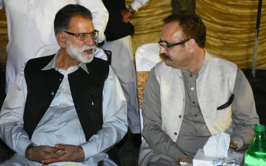 آزاد کشمیر میں پی ٹی آئی حکومت اختلافات کا شکار ، سینئر وزیر سردار تنویر الیاس کا عہدے سے مستعفی ہونے کا فیصلہ