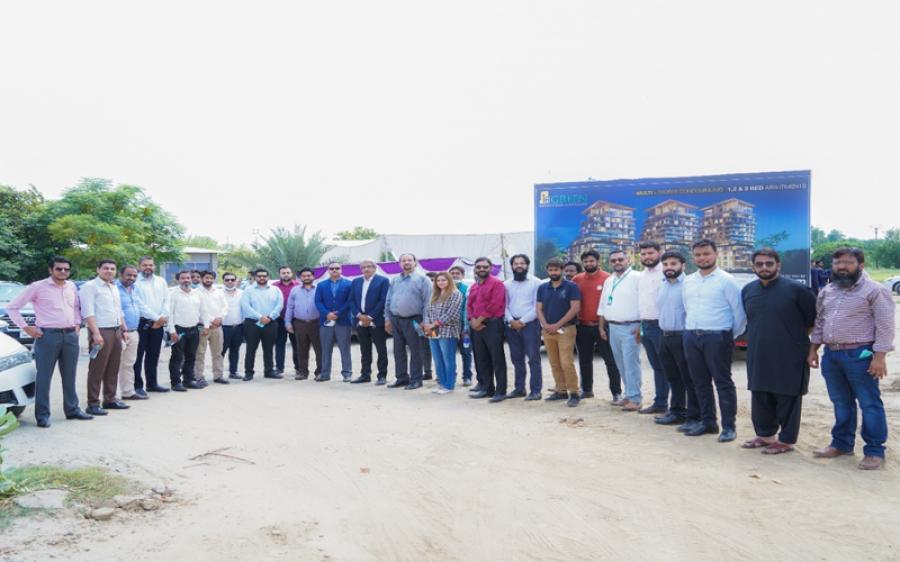 زمین ڈاٹ کام کے تعاون سے لاہور میں '' 18 گرین کنڈومینیمز 'ڈیفنس رایا'' کا سنگ بنیاد رکھ دیا گیا