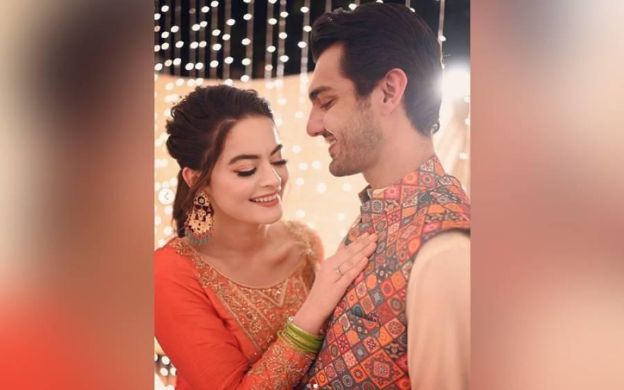 منال اور احسن کی شادی کی تقریبات کا آغاز، ڈھولکی کی ویڈیوز وائرل ہوگئیں