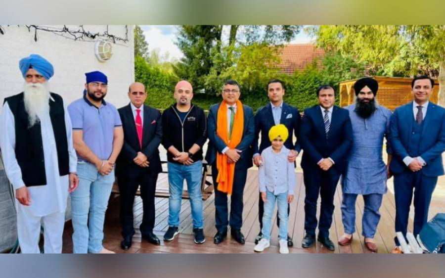 سویڈن میں پاکستانی سفیر ڈاکٹرظہوراحمد کی سکھ کمیونٹی سے ملاقات، کرتارپور میں ہرقسم کی سہولیات فراہم کرنے کی یقین دہانی