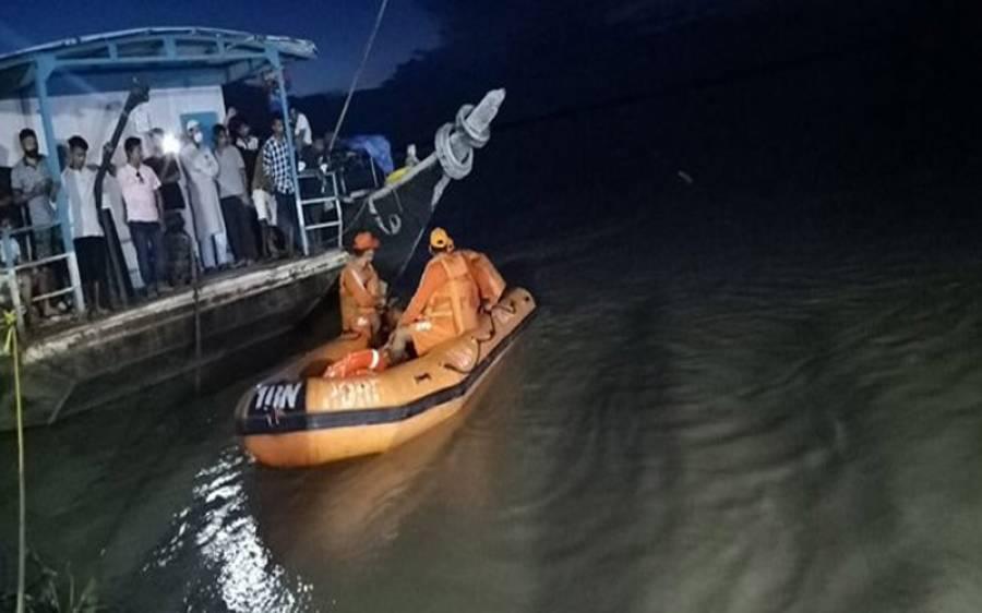 دریائے گنگا میں دو کشتیوں میں تصادم، 6 افراد ڈوب گئے