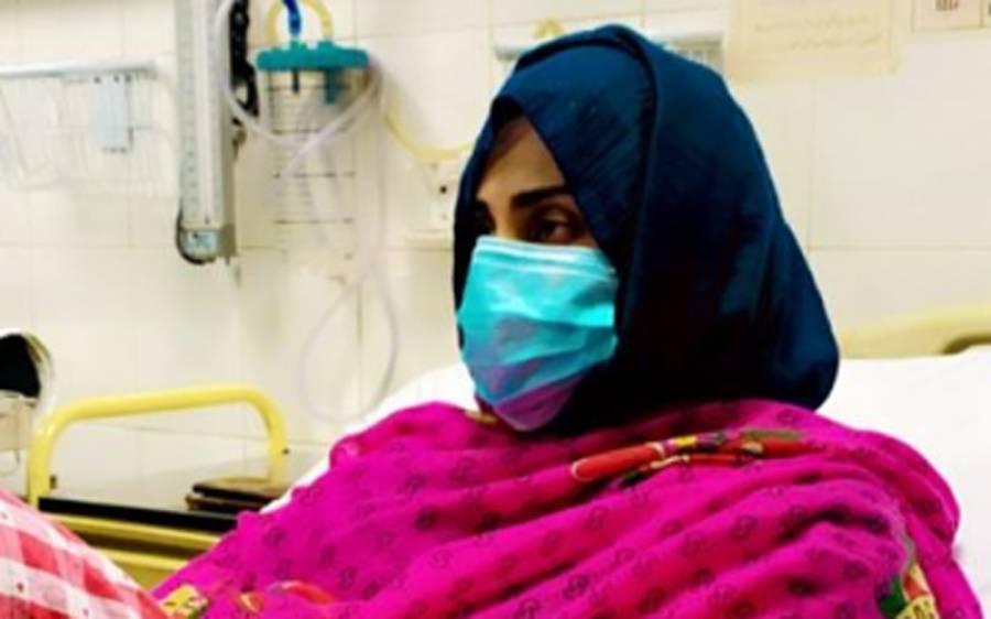 معروف اداکارہ اور میزبان فضا علی کی طبیعت ناساز، ہسپتال داخل، تصویر بھی سامنے آ گئی