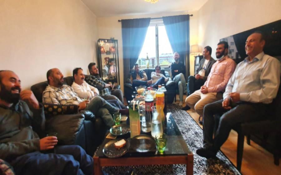 سویڈن میں صحافی ملک شہزاد کی جانب سے پاکستانی صحافیوں کے اعزاز میں عشائیہ