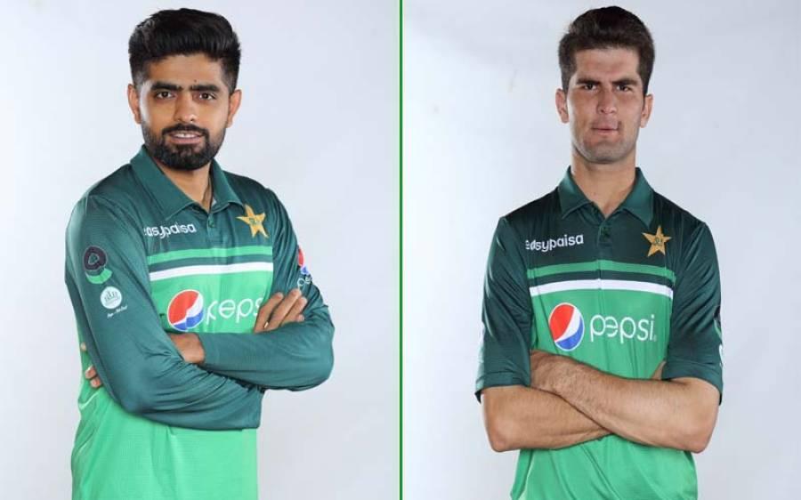 پاکستان کرکٹ ٹیم کی نئی ون ڈے کٹ متعارف کروا دی گئی ، پہنی ہوئی کیسی دکھتی ہے ؟ کھلاڑیوں کی تصاویر وائرل