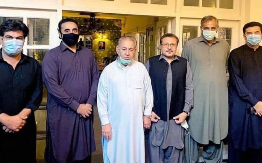 پیپلز پارٹی کا مولانا فضل الرحمان کو بڑا جھٹکا ،جے یو آئی کے اہم رہنما بلاول بھٹو زرداری کو پیارے ہو گئے