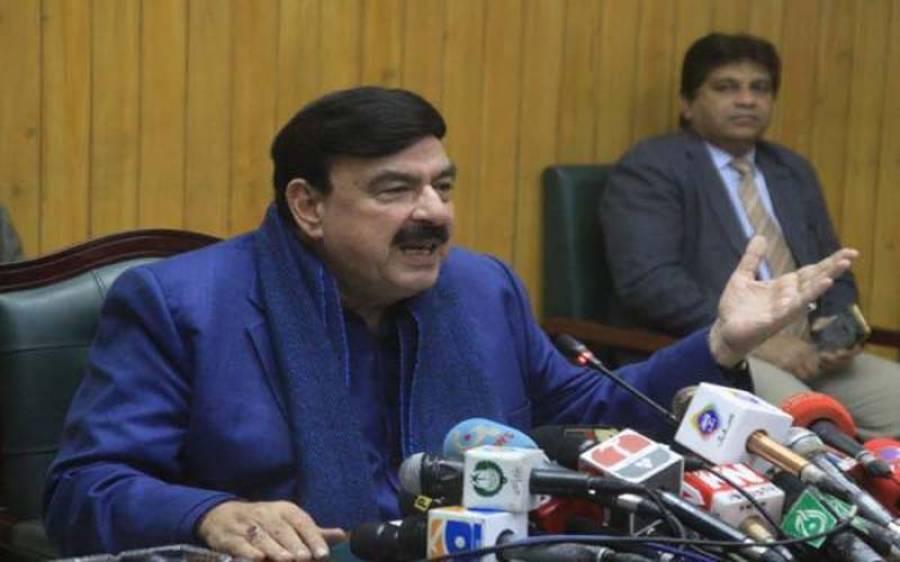 پاکستان مخالف بین الاقوامی ایجنڈوں کے لیے کھیلوں کو قربانی کا بکرا نہ بنائیں،شیخ رشید احمد